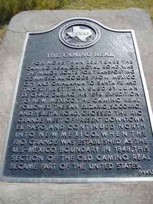 Camino Real Marker image. Click for full size.