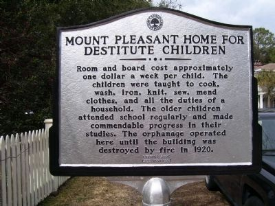 Mount Pleasant Home for Destitute Children - Side B image. Click for full size.
