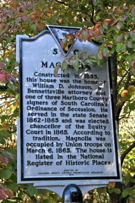 Magnolia Marker image. Click for full size.