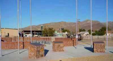 Fort Bliss Buffalo Soldiers Memorial image. Click for full size.