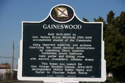 Gaineswood Marker image. Click for full size.