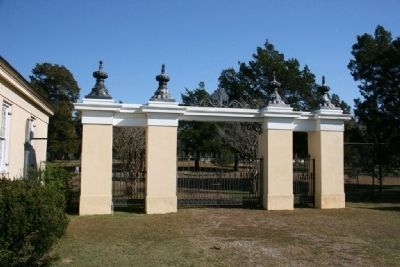 The Original Gated Entrance To Gaineswood image. Click for full size.