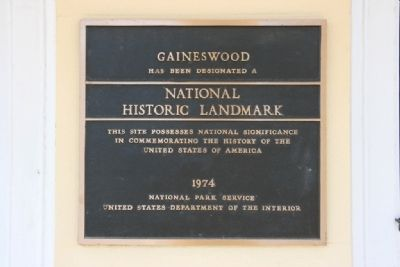 Gaineswood Is A Designated National Historic Landmark image. Click for full size.