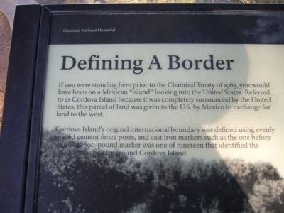 Defining A Border Marker image. Click for full size.