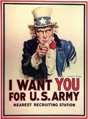 """Uncle Sam"" Poster image. Click for full size."