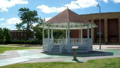 LT John Philip Sousa Bandstand and Marker image. Click for full size.