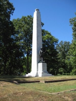 Fort Donelson Confederate Monument Marker image. Click for full size.