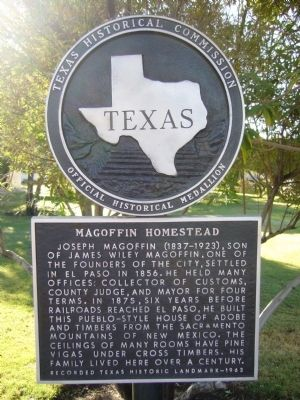 Magoffin Homestead Marker image. Click for full size.