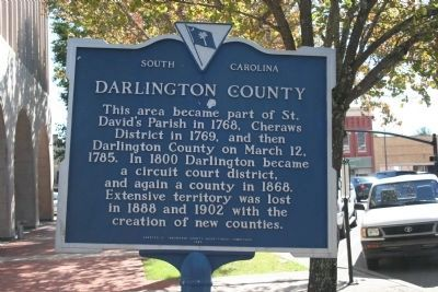 Darlington County Marker image. Click for full size.