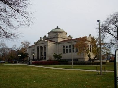 Gilbert M. Simmons Memorial Library image. Click for full size.