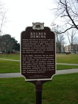 Reuben Deming Marker image. Click for full size.