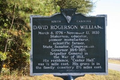David Rogerson Williams Marker image. Click for full size.