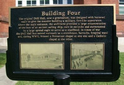 Building Four Marker image. Click for full size.