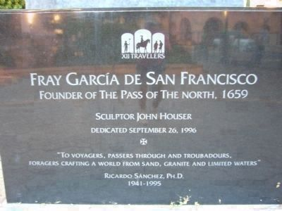 Fray Garcia De San Francisco image. Click for full size.
