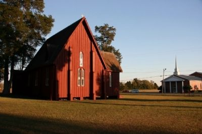 St. Andrew's Church Across From Gallion Baptist Church image. Click for full size.