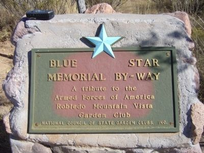 Blue Star Memorial By-Way plaque image. Click for full size.