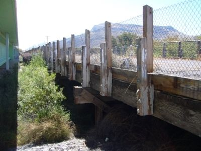 Rio Grandé Bridge at Radium Springs image. Click for full size.