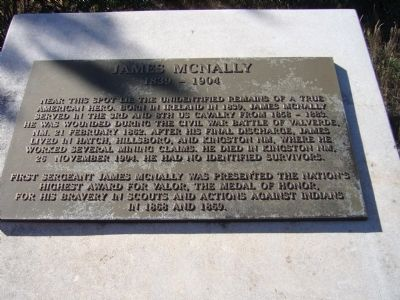 James McNally Marker image. Click for full size.