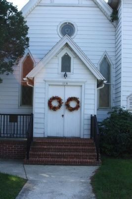 Saint Mark's Episcopal Church Front Door image. Click for full size.