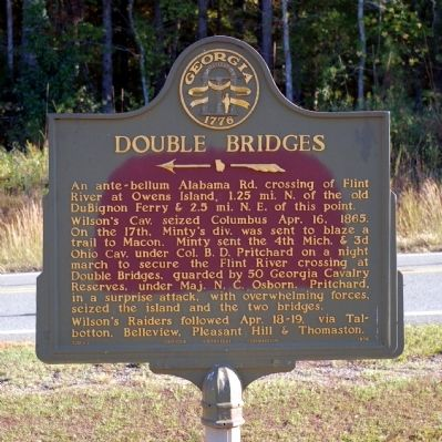 Double Bridges Marker image. Click for full size.