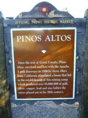 Pinos Altos Marker image. Click for full size.