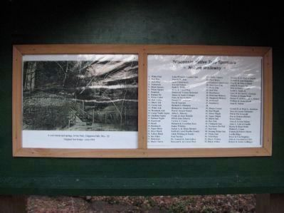 Information Panel at Foot Bridge image. Click for full size.