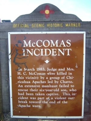 McComas Incident Marker image. Click for full size.