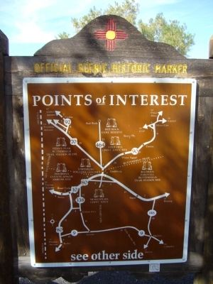 <i>back of</i> Lordsburg Marker image. Click for full size.