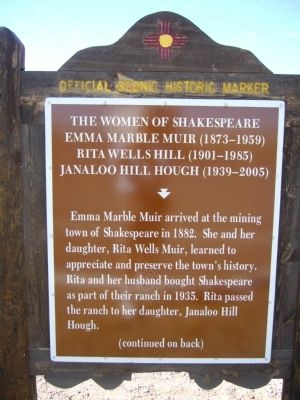 The Women of Shakespeare Marker image. Click for full size.