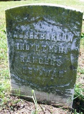 Abner Barlow Early Grave Marker image. Click for full size.