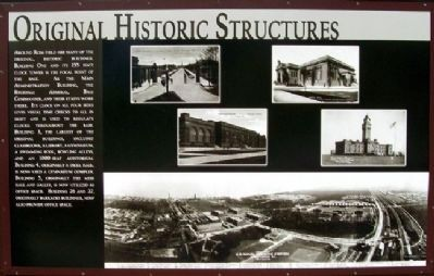 Original Historic Structures Marker image. Click for full size.