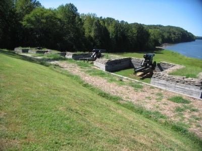 The Lower River Battery image. Click for full size.