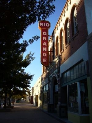 Rio Grande Theatre image. Click for full size.