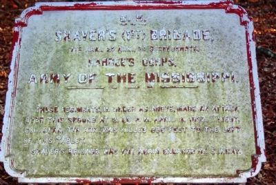 Shaver's Brigade Tablet image. Click for full size.