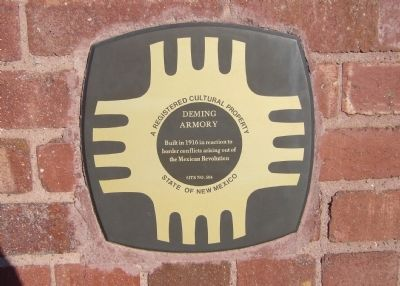 Deming Armory Marker image. Click for full size.