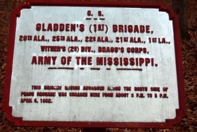 Gladden's Brigade Tablet image. Click for full size.
