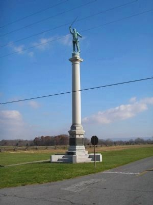 New Jersey State Monument (Foreward View) image. Click for full size.