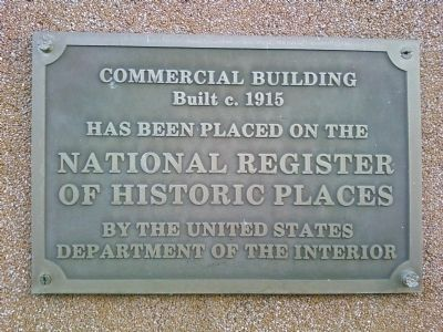 Commercial Building Marker image. Click for full size.