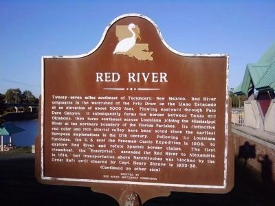 Red River Marker (Side A) image. Click for full size.