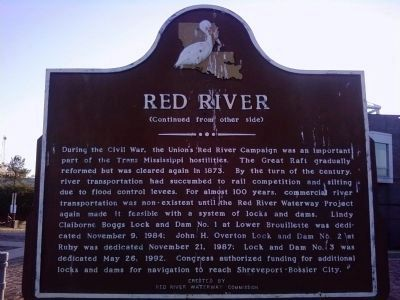 Red River Marker (Side B) image. Click for full size.