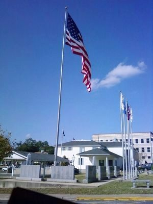 Other Vernon Parish veterans' monuments. image. Click for full size.