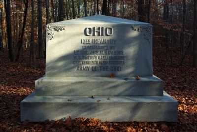 13th Ohio Infantry Marker image. Click for full size.