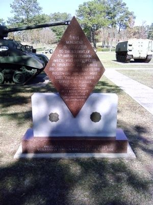 5th Infantry Division (Mech) Marker image. Click for full size.
