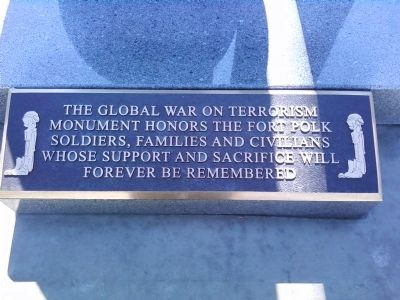 Global War on Terrorism Monument image. Click for full size.