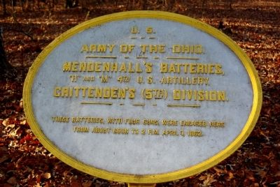 Mendenhall's Battery Marker image. Click for full size.