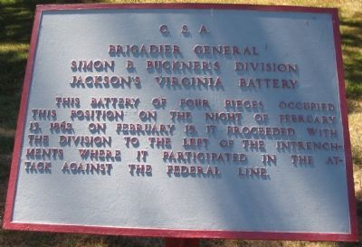 Jackson's Virginia Battery Tablet image. Click for full size.