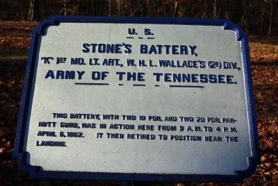 Stone's Battery Marker image. Click for full size.