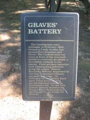 Graves' Battery Marker image. Click for full size.