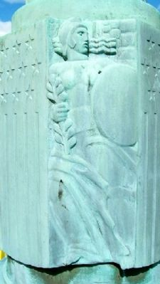 Service Star Legion World War I Memorial Detail image. Click for full size.