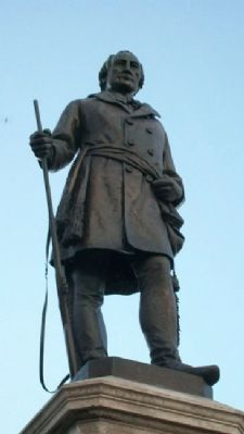 Solomon Juneau Statue image. Click for full size.